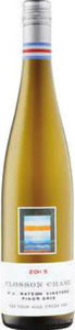 Closson Chase K J Watson Vineyard Pinot Gris 2015