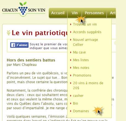 les vignobles du Québec
