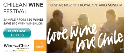 Wines of Chile - Nov 1st – Toronto