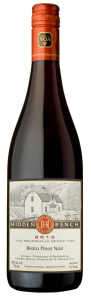 Hidden Bench Bistro Pinot Noir 2013