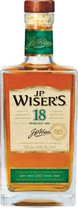 J.P. Wiser's 18 Years Old Canadian Whisky