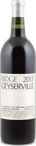Ridge Geyserville 2014