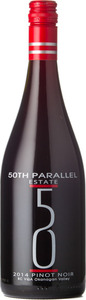 50th Parallel Pinot Noir 2014