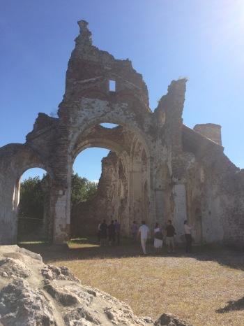 Ruins dotting the landscape