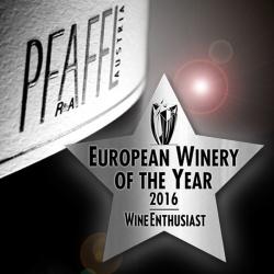 Pfaffl - European Winery of the Year 2016 - Wine Enthusiast