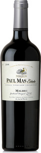 Paul Mas Estate Single Vineyard Collection Malbec 2015