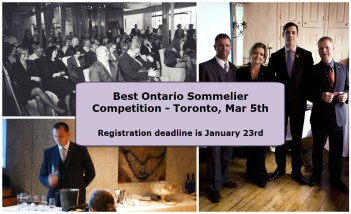 Best Ontario Sommelier Competition 2017