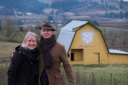 Brad and Veronique at Bergstrom