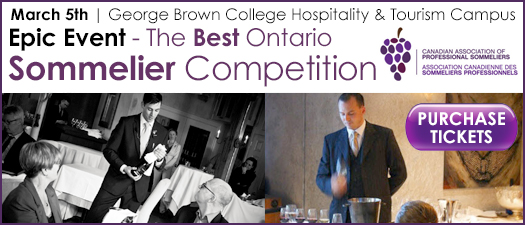 Best Ontario Sommelier Competition