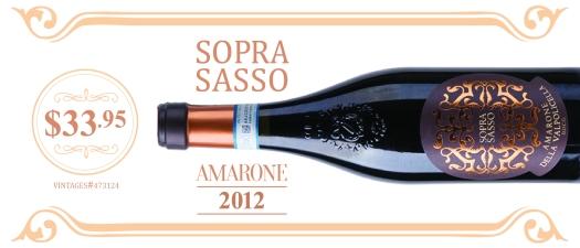 Soprasasso Amarone della Valpolicella 2012