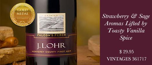 J. Lohr Falcon's Perch Pinot Noir 2014
