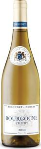 Simonnet Febvre Bourgogne Chitry 2014