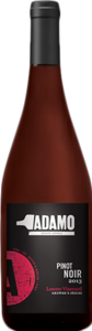 Adamo Estate Pinot Noir Lowrey Vineyard 2014