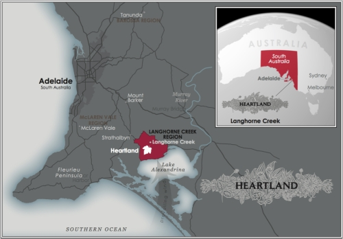 Heartland/Langhone Creek Map
