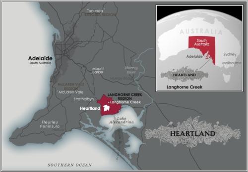 Heartland/Langhone Creek Map