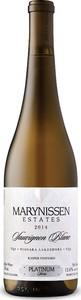Marynissen Platinum Kasper Vineyard Sauvignon Blanc 2014