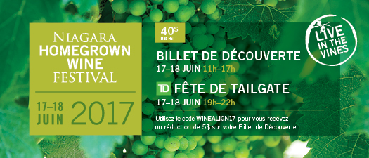 Niagara Homegrown Wine Festival