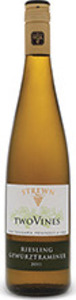 Strewn Two Vines Riesling Gewurztraminer 2015