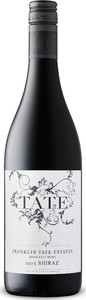 Franklin Tate Estates Shiraz 2015