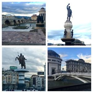 Skopje, the capital city
