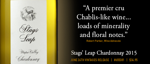 Stags' Leap Winery Chardonnay 2015