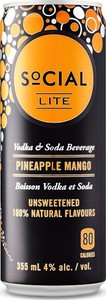 Social Lite Pineapple Mango
