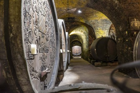 1000 year-old cellar, Weingut Nikolaihof