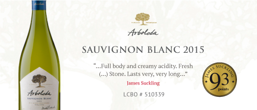 Arboleda Single Vineyard Sauvignon Blanc 2015