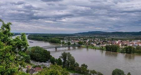 Danube Bridge to the South Bank at Mautern