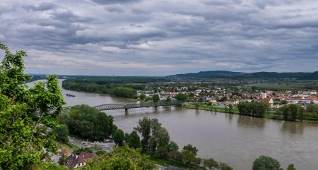Danube Bridge to the South Bank at Mautern