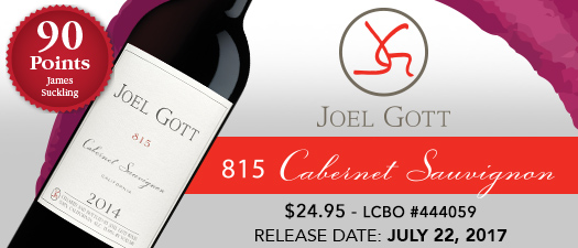 Joel Gott 815 Cabernet Sauvignon 2014