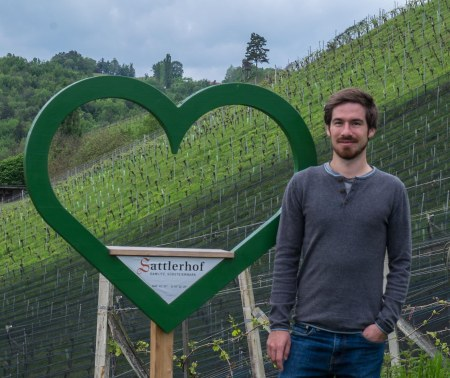 Andreas Sattler of Sattlerhof in the Ried Sernauberg
