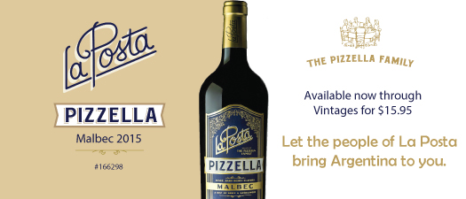 La Posta Pizzella Malbec 2015