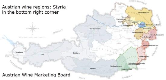 Austrian wine regions