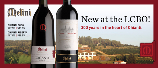 Melini Chianti - New at the LCBO