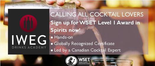 IWEG - WSET Level 1 Award in Spirits