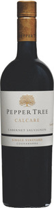 Peppertree Calcare Single Vineyard Cabernet Sauvignon 2013
