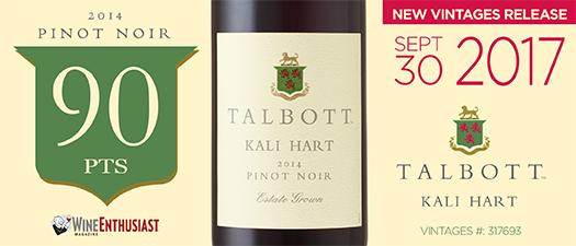 Talbott Kali Hart Pinot Noir 2014