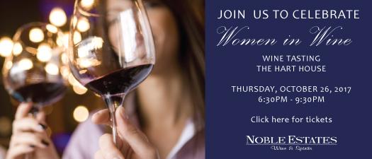 Celebrate Women in Wine