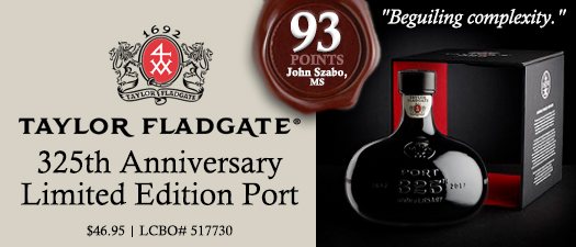 Taylor Fladgate 325th Anniversary limited Edition Tawny Port