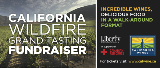 California Wildfire Grand Tasting Fundraiser