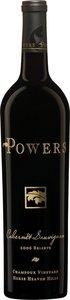 Powers Cabernet Sauvignon Champoux Vineyards 2013
