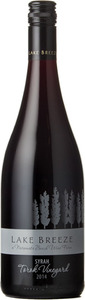Lake Breeze Syrah Torok Vineyard 2014