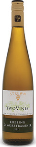 Strewn Two Vines Riesling Gewurztraminer 2016