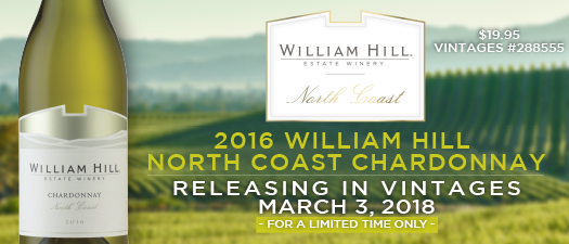 William Hill North Coast Chardonnay 2016