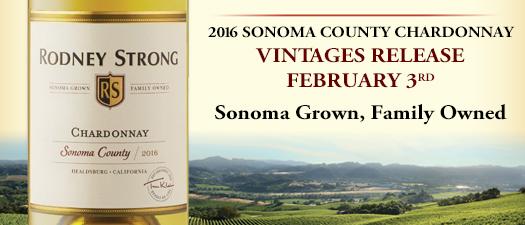 Rodney Strong Chardonnay 2016