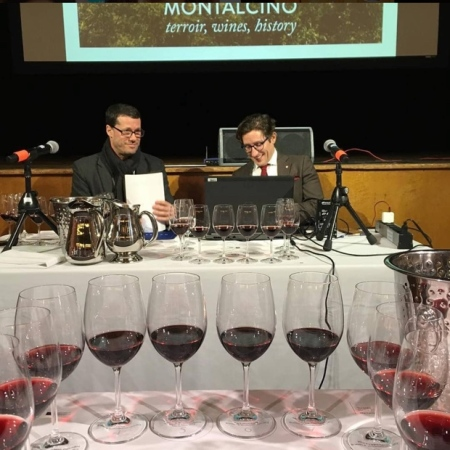 Presenting Brunello di Montalcino at The Carlu in Toronto with Consorzio Director Giacomo Pondini