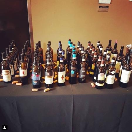 Brunello seminar wines at The Carlu