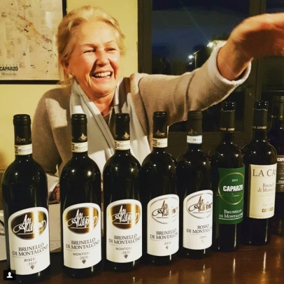 Tasting Altesino and Caparzo with Elisabetta Gnudi Angelini