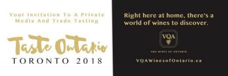 Taste Ontario Toronto 2018